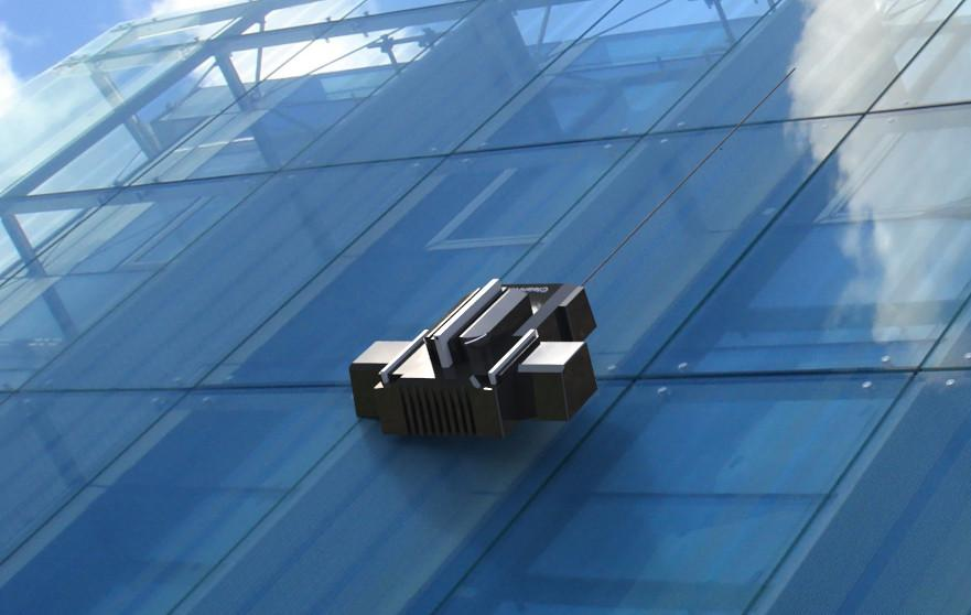 نمونه ای از ربات های شیشه شوی