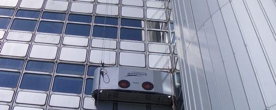 ربات شیشه شوی manntech