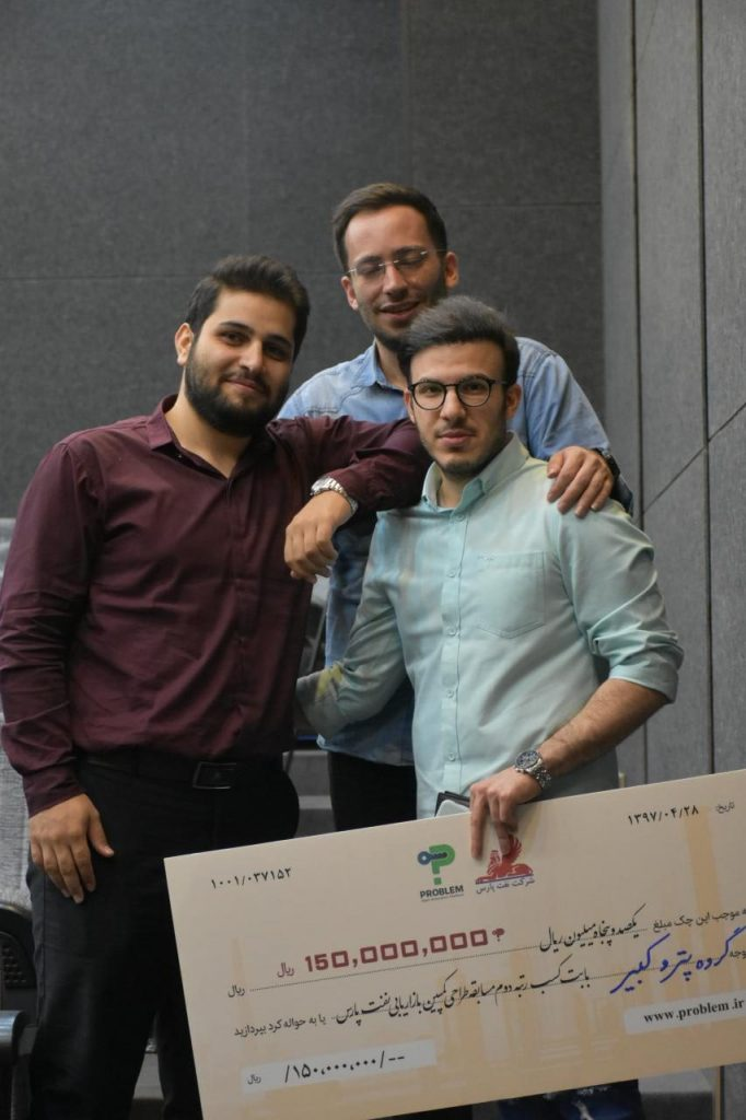 تیم دوم مسابقه طراحی کمپین بازاریابی